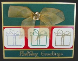 Gift Boxes & Bows