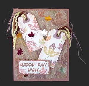 Happy Fall Tags